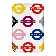 Underground Signs Tube Signs Samsung Galaxy Note 8 0 N5100 Hardshell Case