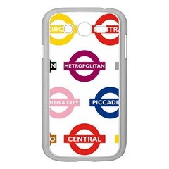 Underground Signs Tube Signs Samsung Galaxy Grand Duos I9082 Case (white)
