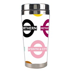 Underground Signs Tube Signs Stainless Steel Travel Tumblers