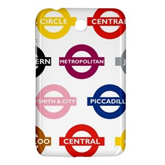 Underground Signs Tube Signs Samsung Galaxy Tab 3 (7 ) P3200 Hardshell Case