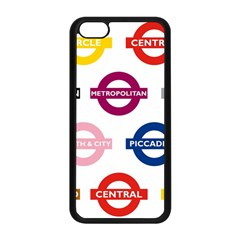 Underground Signs Tube Signs Apple Iphone 5c Seamless Case (black)