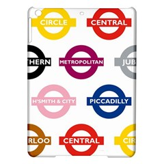 Underground Signs Tube Signs Ipad Air Hardshell Cases