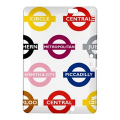 Underground Signs Tube Signs Kindle Fire Hdx 8 9  Hardshell Case