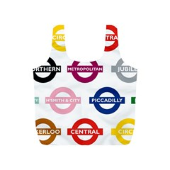 Underground Signs Tube Signs Full Print Recycle Bags (s)