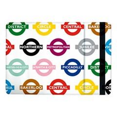 Underground Signs Tube Signs Samsung Galaxy Tab Pro 10.1  Flip Case