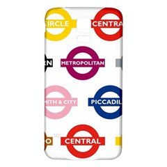 Underground Signs Tube Signs Samsung Galaxy S5 Back Case (white)