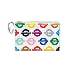 Underground Signs Tube Signs Canvas Cosmetic Bag (s)