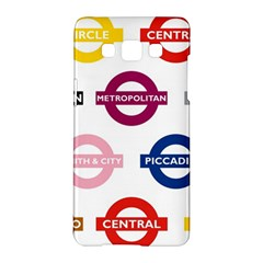 Underground Signs Tube Signs Samsung Galaxy A5 Hardshell Case