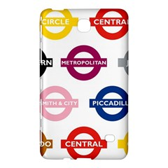 Underground Signs Tube Signs Samsung Galaxy Tab 4 (8 ) Hardshell Case
