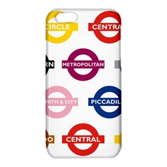Underground Signs Tube Signs iPhone 6/6S TPU Case