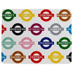 Underground Signs Tube Signs Jigsaw Puzzle Photo Stand (rectangular)