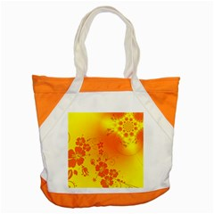 Flowers Floral Design Flora Yellow Accent Tote Bag