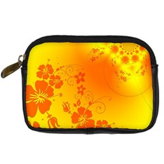Flowers Floral Design Flora Yellow Digital Camera Cases