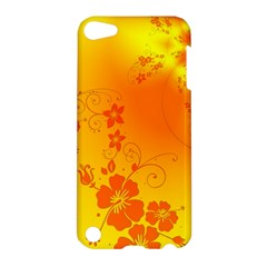 Flowers Floral Design Flora Yellow Apple Ipod Touch 5 Hardshell Case
