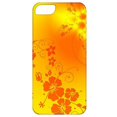 Flowers Floral Design Flora Yellow Apple Iphone 5 Classic Hardshell Case