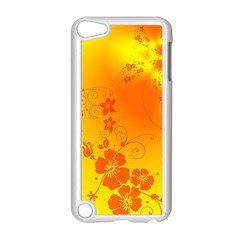 Flowers Floral Design Flora Yellow Apple Ipod Touch 5 Case (white)