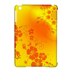 Flowers Floral Design Flora Yellow Apple Ipad Mini Hardshell Case (compatible With Smart Cover)