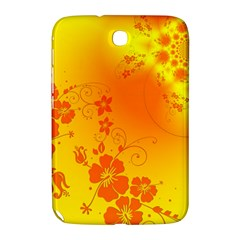 Flowers Floral Design Flora Yellow Samsung Galaxy Note 8 0 N5100 Hardshell Case