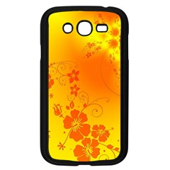 Flowers Floral Design Flora Yellow Samsung Galaxy Grand Duos I9082 Case (black)