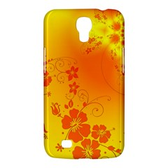 Flowers Floral Design Flora Yellow Samsung Galaxy Mega 6 3  I9200 Hardshell Case