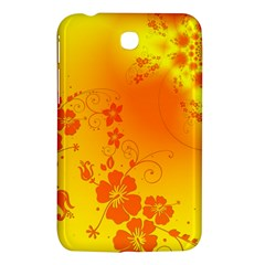 Flowers Floral Design Flora Yellow Samsung Galaxy Tab 3 (7 ) P3200 Hardshell Case