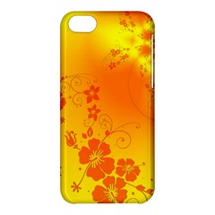 Flowers Floral Design Flora Yellow Apple Iphone 5c Hardshell Case