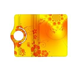 Flowers Floral Design Flora Yellow Kindle Fire Hd (2013) Flip 360 Case