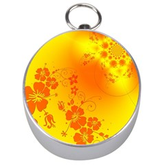Flowers Floral Design Flora Yellow Silver Compasses