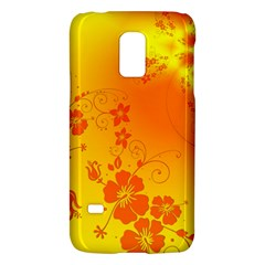 Flowers Floral Design Flora Yellow Galaxy S5 Mini