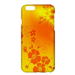 Flowers Floral Design Flora Yellow Apple Iphone 6 Plus/6s Plus Hardshell Case