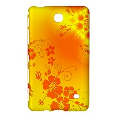 Flowers Floral Design Flora Yellow Samsung Galaxy Tab 4 (7 ) Hardshell Case