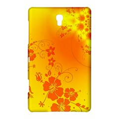Flowers Floral Design Flora Yellow Samsung Galaxy Tab S (8.4 ) Hardshell Case