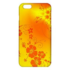 Flowers Floral Design Flora Yellow iPhone 6 Plus/6S Plus TPU Case