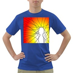 Spirituality Man Origin Lines Dark T Shirt