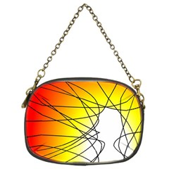 Spirituality Man Origin Lines Chain Purses (Two Sides)