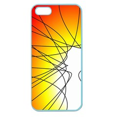 Spirituality Man Origin Lines Apple Seamless Iphone 5 Case (color)