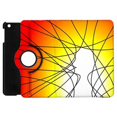 Spirituality Man Origin Lines Apple Ipad Mini Flip 360 Case