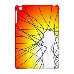 Spirituality Man Origin Lines Apple iPad Mini Hardshell Case (Compatible with Smart Cover)