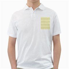 Background Pattern Lines Golf Shirts