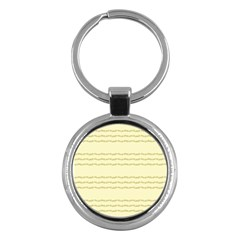 Background Pattern Lines Key Chains (round)