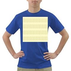 Background Pattern Lines Dark T Shirt