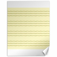Background Pattern Lines Canvas 12  X 16