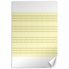 Background Pattern Lines Canvas 12  X 18