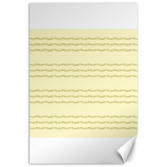 Background Pattern Lines Canvas 24  X 36