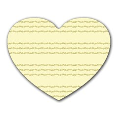 Background Pattern Lines Heart Mousepads