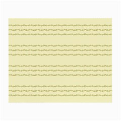 Background Pattern Lines Small Glasses Cloth (2 Side)