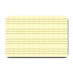 Background Pattern Lines Small Doormat