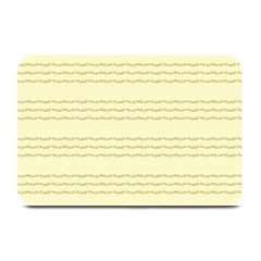 Background Pattern Lines Plate Mats