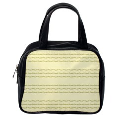 Background Pattern Lines Classic Handbags (one Side)