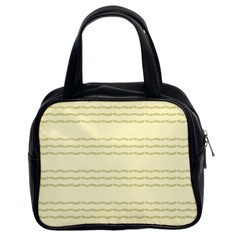 Background Pattern Lines Classic Handbags (2 Sides)